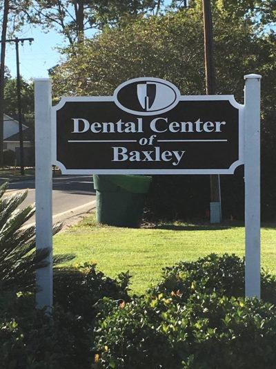 Baxley Dental Center - Sign